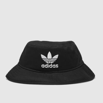Adidas Black Adicolor Bucket Caps and Hats