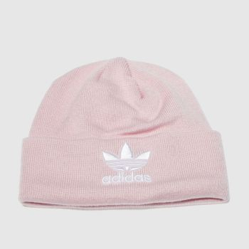 Adidas Pale Pink TREFOIL BEANIE Caps and Hats