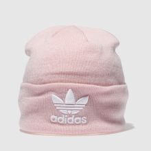 a6f4bc88dde pale pink adidas trefoil beanie Caps and Hats