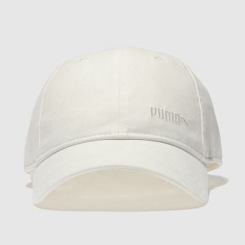 Puma White Bow Cap Caps and Hats