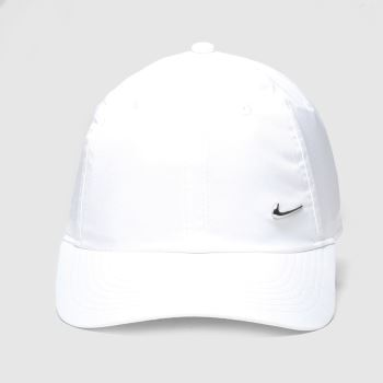 Nike White & Silver Kids H86 Caps and Hats