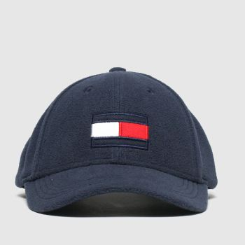 Tommy Hilfiger Navy Kids Big Flag Fleece Caps and Hats