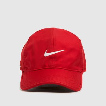 Nike Red Featherlight Caps and Hats