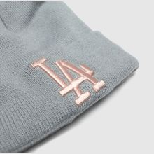 New Era kids la double pom knit 1