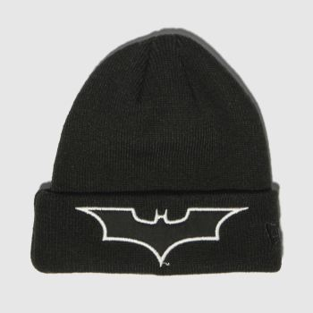 New Era Black Kids Batman Gitd Knit Caps and Hats