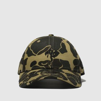 New Era Khaki Camo 9Forty Ny Yankees Caps and Hats