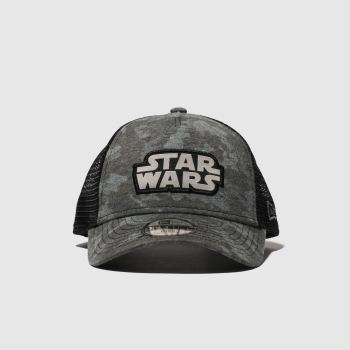 New Era Grey & Black Kids 9 Forty Starwars Caps and Hats from Schuh