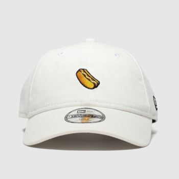 New Era White Kids 9Twenty Hot Dog Caps and Hats