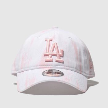 New Era Pale Pink Kids 9forty La Dodgers c2namevalue::Caps and Hats
