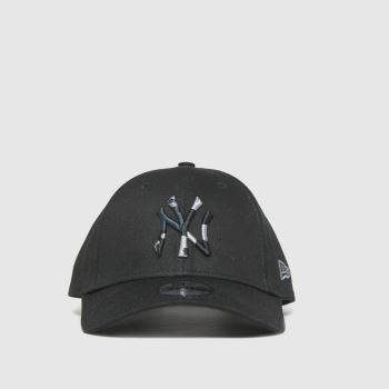 New Era Black Kids Ny Yankees 9forty Caps and Hats