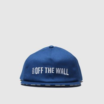 accessories vans blue central hat