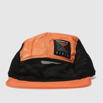 Adidas Orange Atric 5 Panel Cap Caps and Hats