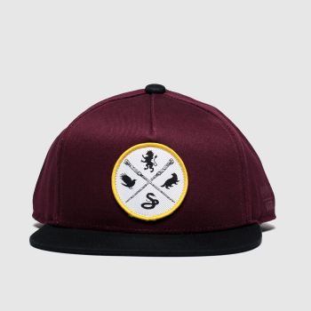 Vans Burgundy Hp Kids Snapback Caps and Hats