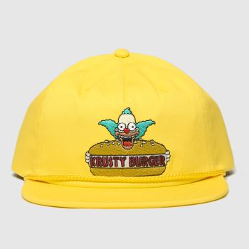 Vans Yellow The Simpsons Snapback Caps and Hats