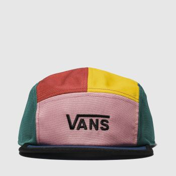 Vans Red & Pink Patchy Hat Caps and Hats