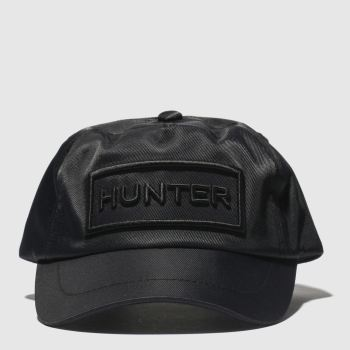 Hunter Black Baseball Cap Caps and Hats