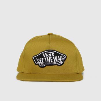 Vans Khaki Classic Patch Snapback Caps and Hats