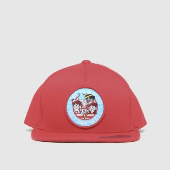 Vans Red Wheres Waldo Kids Cap Caps and Hats