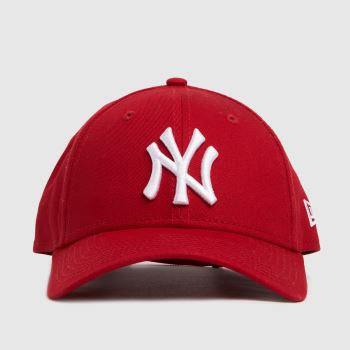 New Era Red Ny Yankees 9forty League Caps and Hats