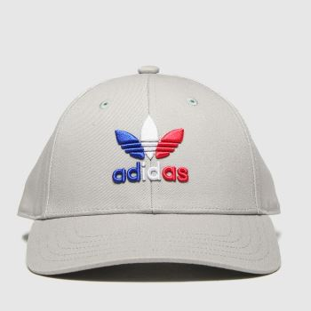 adidas Grey Baseball Classic Tre Caps and Hats