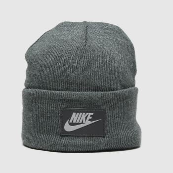 Nike Grey Cuffed Beanie Fut Flash Caps and Hats