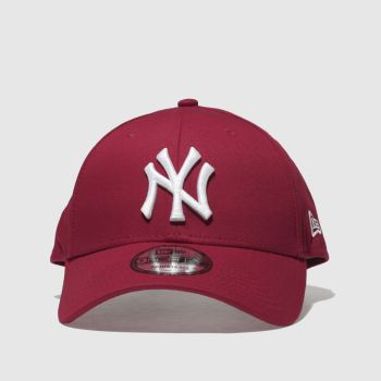 New Era Red Ne 9Forty New York Yankees Caps and Hats