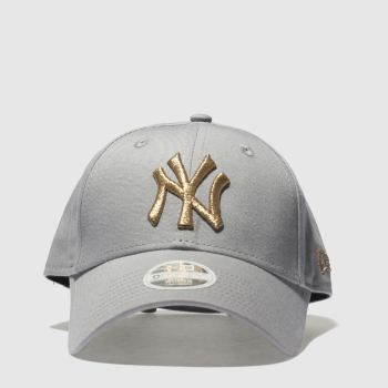 New Era Grey 9Forty New York Yankees Caps and Hats