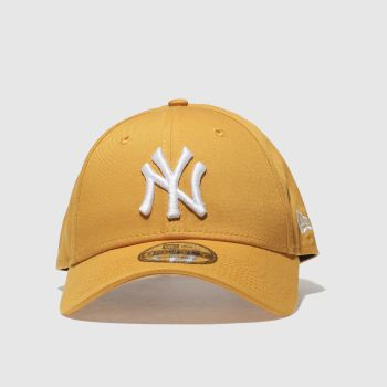 New Era Yellow 9Forty New York Yankees Caps and Hats