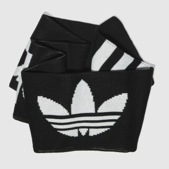 Adidas Black & White Scarf Apparel