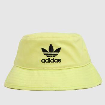 adidas Yellow Bucket Hat Caps and Hats