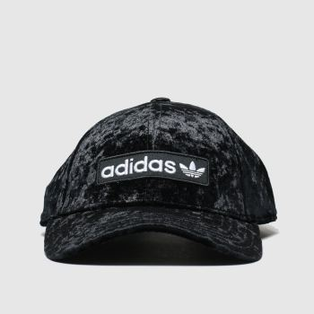 Adidas Black Baseball Cap Adults Hats from Schuh