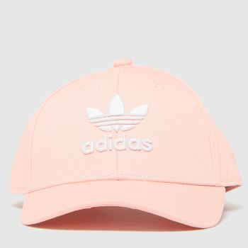 adidas Pale Pink Kids Bball Class Tre Caps and Hats