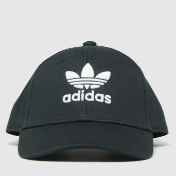 adidas Black & White Kids Bball Class Tre Caps and Hats