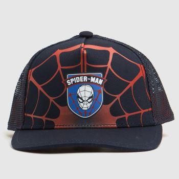 adidas Black & Red Spiderman Cap Caps and Hats