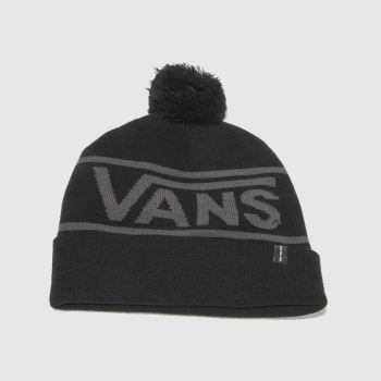 Vans Black Drop V Beanie Caps and Hats