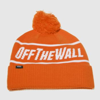 Vans Orange Off The Wall Beanie Caps and Hats