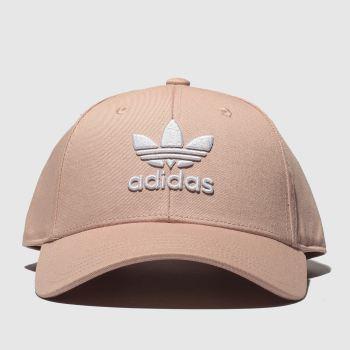 6cc55bee2d7 Adidas Pale Pink BASEBALL CLASS TREFOIL Adults Hats