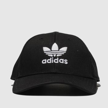 adidas Black & White Baseball Classic Trefoil Caps and Hats