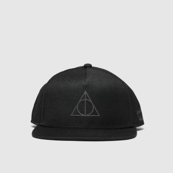 Vans Black Hp Deathly Hallows Snapback Adults Hats