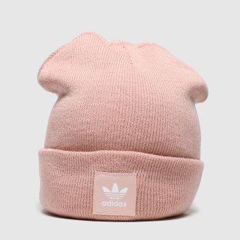 Adidas Pale Pink Cuff Knit c2namevalue::Adults Hats