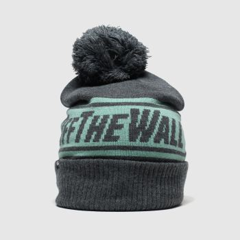 accessories vans grey off the wall pom beanie