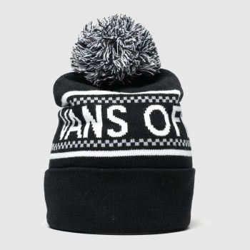 accessories vans black & white pep rally beanie