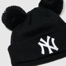New Era Kids Double Pom Knit Ny 1