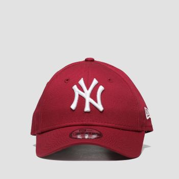 New Era Red Kids Essential 9forty Ny Caps and Hats