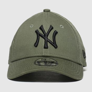 New Era Khaki Kids Essential 9forty Ny Caps and Hats