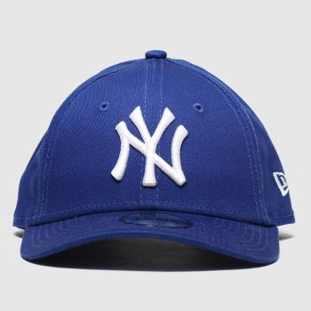 New Era Blue Kids Essential 9forty Ny Caps and Hats