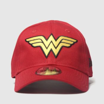 New Era Red Kids Wonder Women 9forty Caps and Hats
