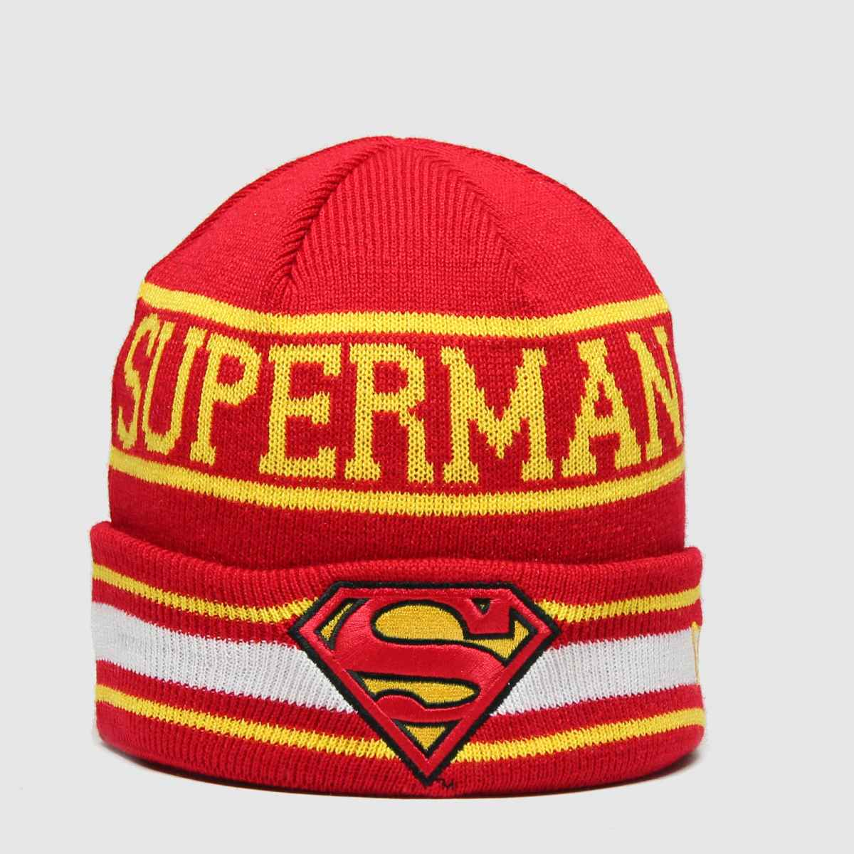 New Era Accessories New Era Red Kids Dc Superman Knit