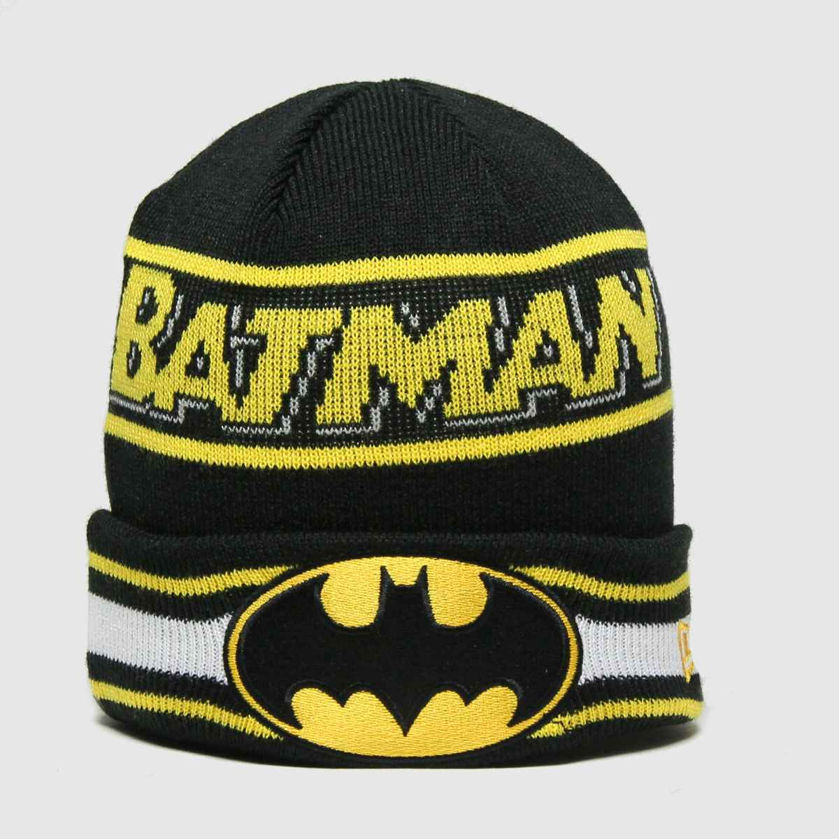 New Era Accessories New Era Black Kids Dc Batman Knit