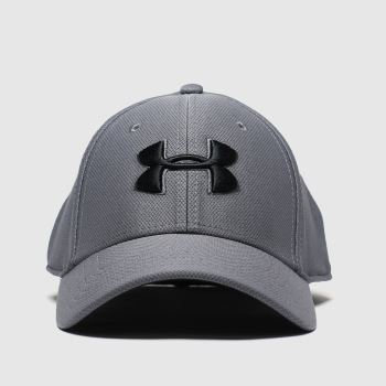 Under Armour Light Grey Blitzing Cap Caps and Hats